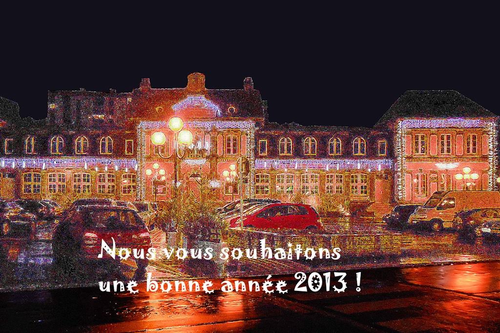 Meilleurs vœux pour 2013