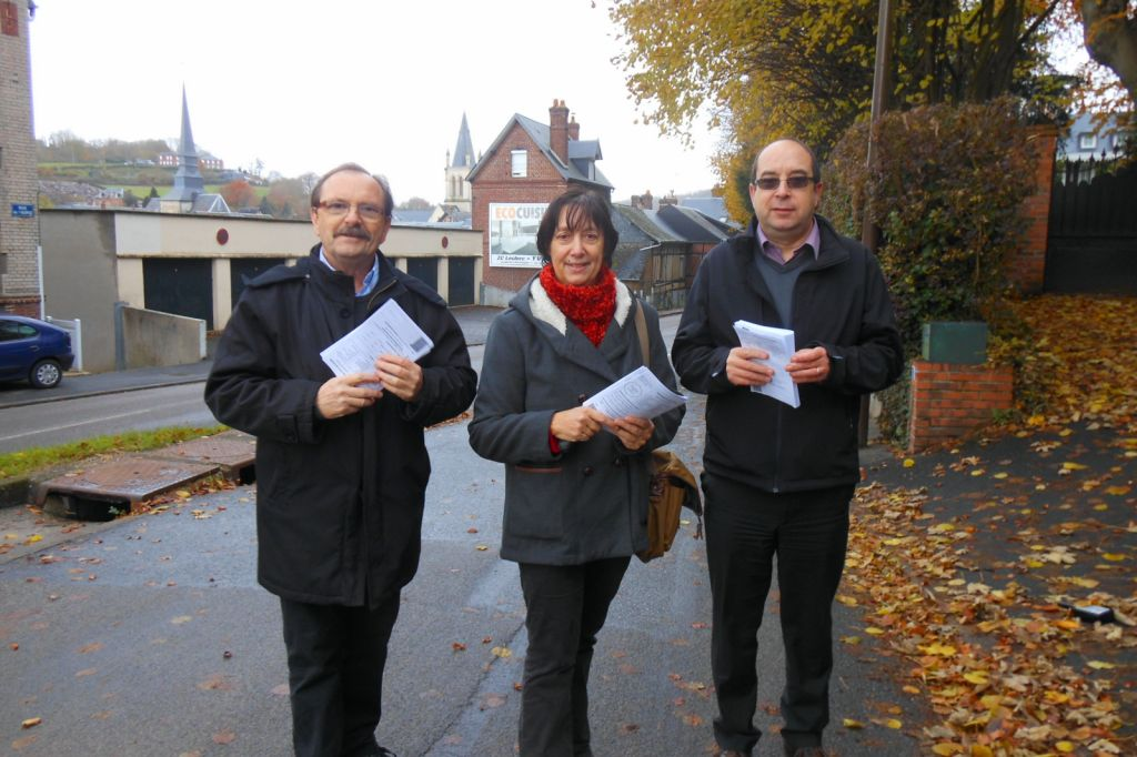 Distribution dans Pavilly