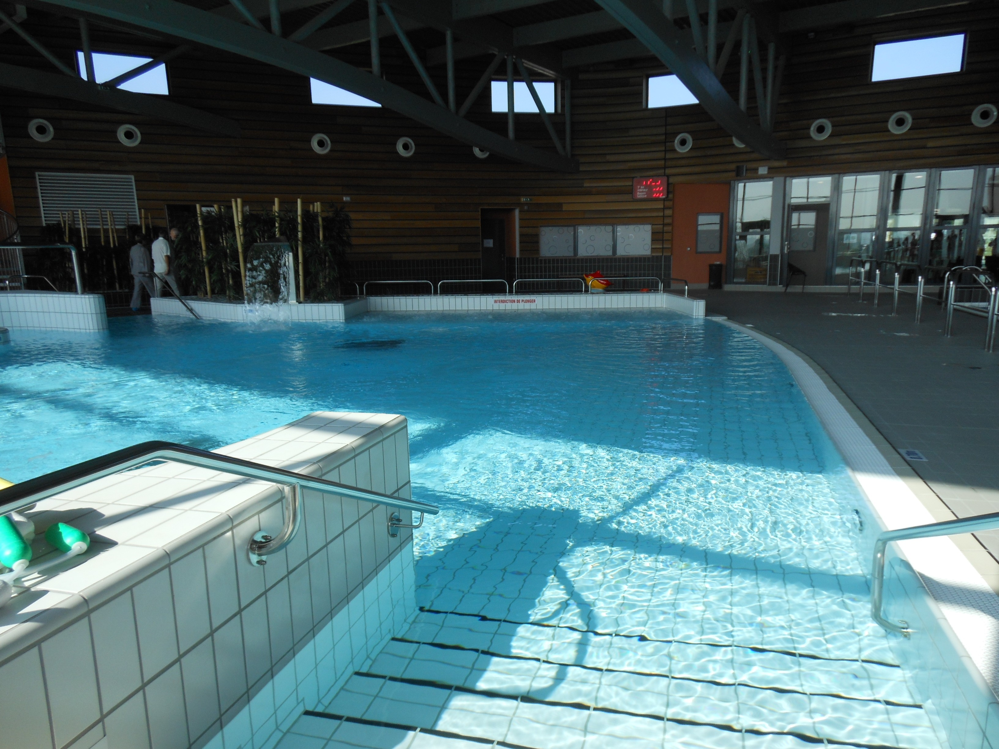 inauguration de la piscine pavilly demain